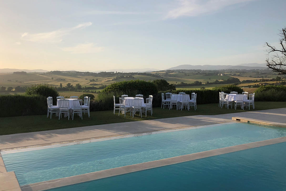 Wedding location - Agriturismo with pool Tenuta dei Mori, Perugia - Umbria