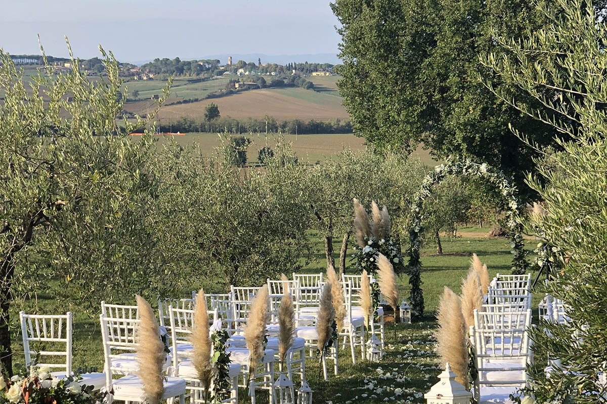 Wedding in agriturismo with pool - Tenuta dei Mori, Perugia - Umbria